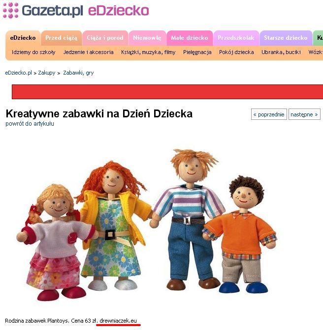Plan Toys - Nowoczesna rodzina lalek