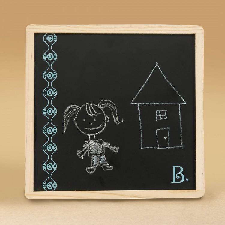 B. Toys, Magnetic Alphabetic, Magnetyczny alfabet z tablicą kredową, 3+