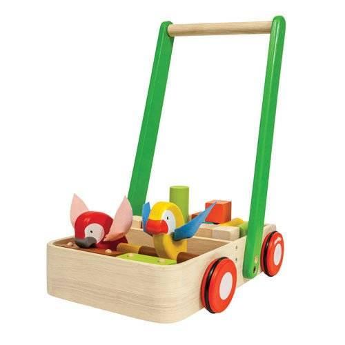 Drewniany chodzik z ptaszkami Plan Toys