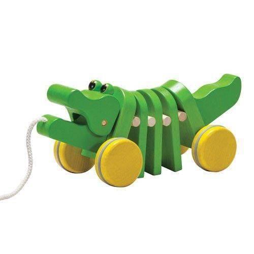Drewniany krokodyl do ciągnięcia Plan Toys