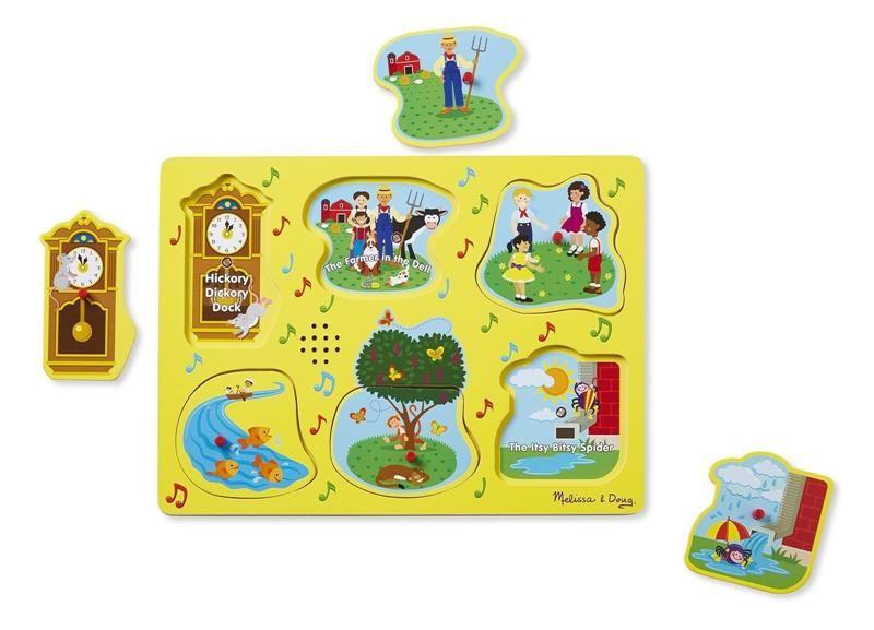 7072878309ff30 Melissa and Doug, Puzzle Dźwiękowe Angielskie Rymowanki 2+ ...