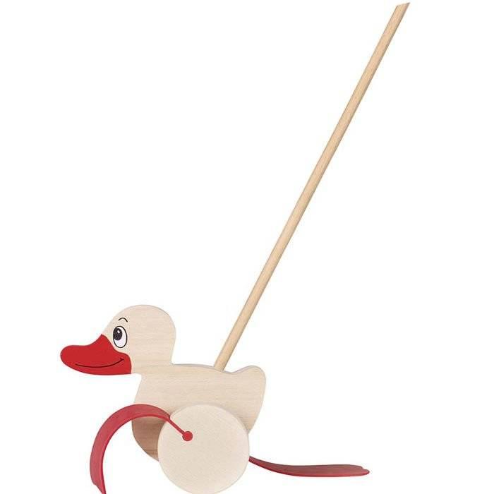 Pchacz Kaczka - zabawka do pchania Goki