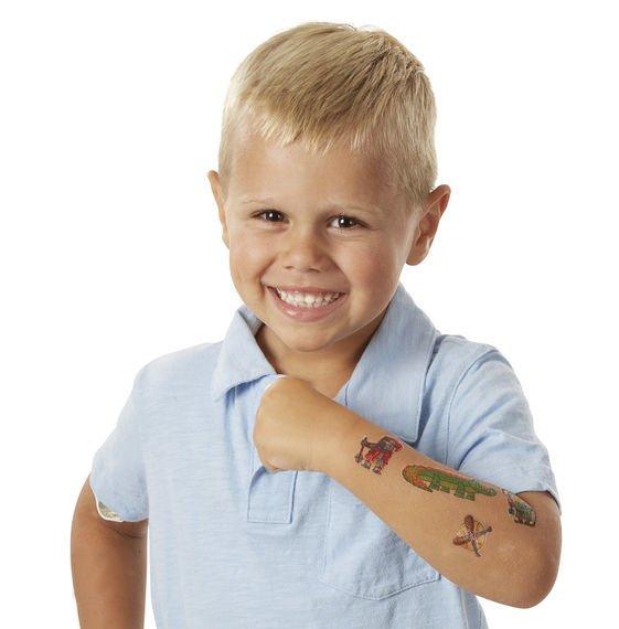 Tatuaże Dla Dzieci Pojazdy Bohaterowie Sport Melissadoug