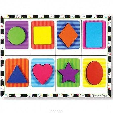 Melissa and Doug Puzzle Kształty 2+, MD13730