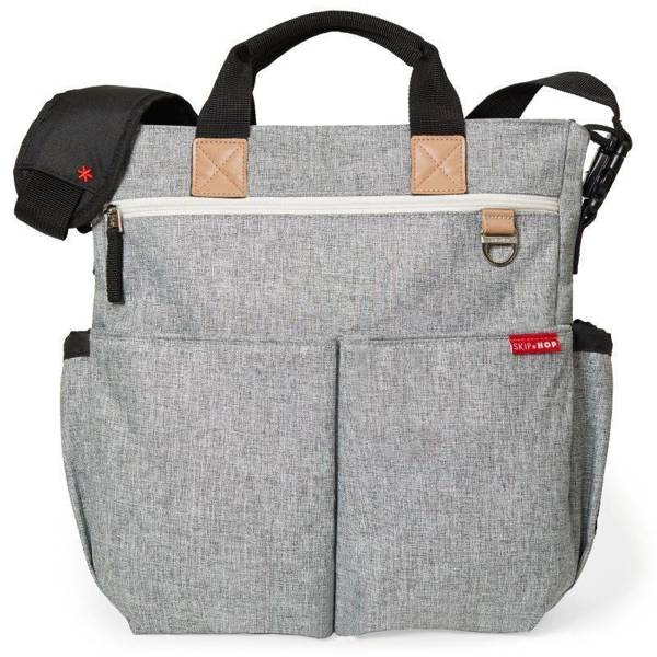 Torba Duo Signature Grey Melange